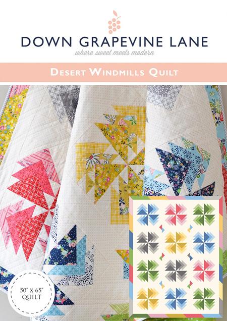 Desert Windmills Quilt Pattern