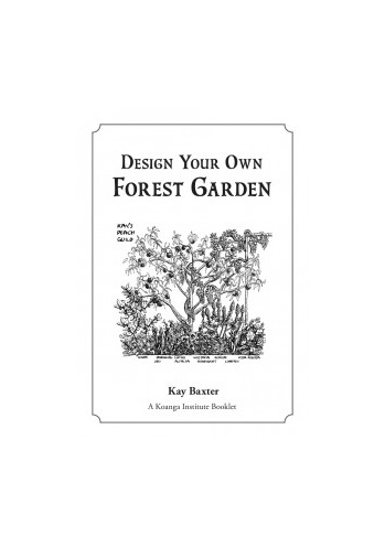Design Your Own Forest Garden