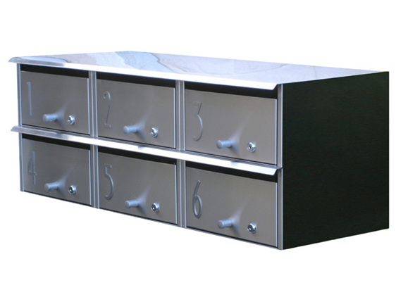 Designer Apartment Letterbox S/Steel