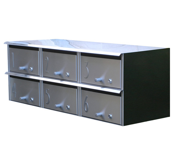 Designer Apartment Style Letterbox