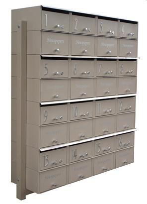 Designer Apartment with Parcel Box