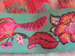 Designer Ribbon - Tula Pink - Chipmunk Turquoise