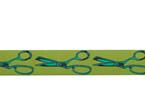 Designer Ribbon - Tula Pink - HandMade - Cut Once Morning Green