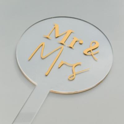 Designer Toppers - Mr & Mrs