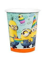Despicable Me 2 Party Cups x 8