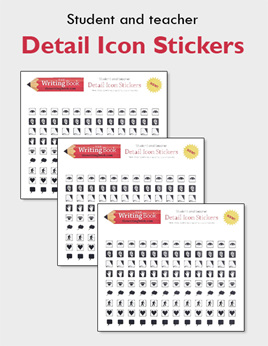 Detail Icon Stickers - Multi Packs
