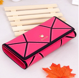 Detail Long Wallet - HOT PINK