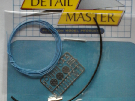 Detail Master Photo-Etch Distributor Kit - Light Blue