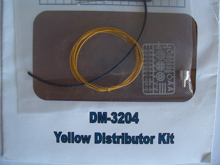 Detail Master Photo-Etch Distributor Kit - Yellow