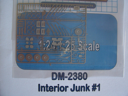 Detail Master Photo-Etch Interior Junk (Type 1)