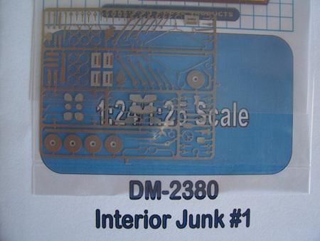 Detail Master Photo-Etch Interior Junk (Type 1)