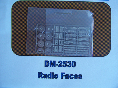 Detail Master Photo-Etch Radio Faces