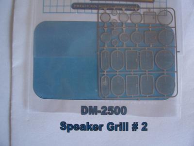 Detail Master Photo Etch Speaker Grills