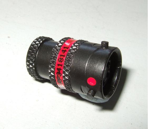 Deutsch autosport ASL connector 5 way plug with red keyway