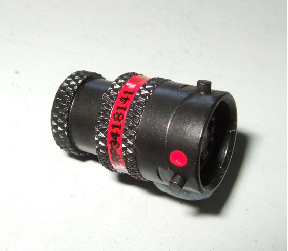 Deutsch autosport ASL connector 5 way plug with red keyway