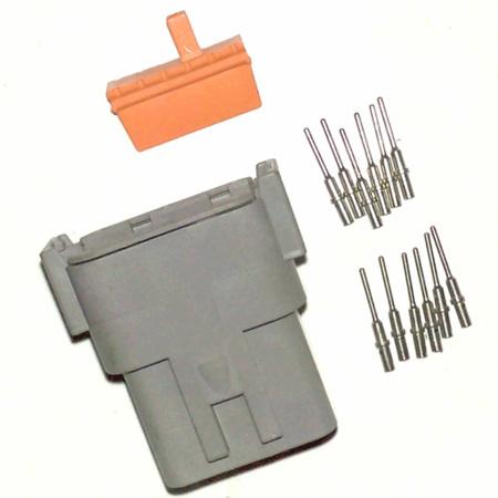 Deutsch DTM 12 way receptacle kit
