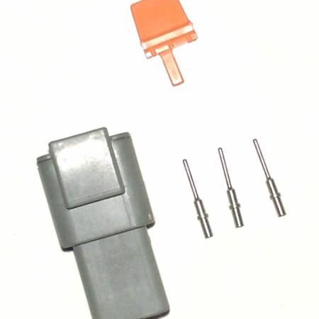 Deutsch DTM 3 way receptacle  kit
