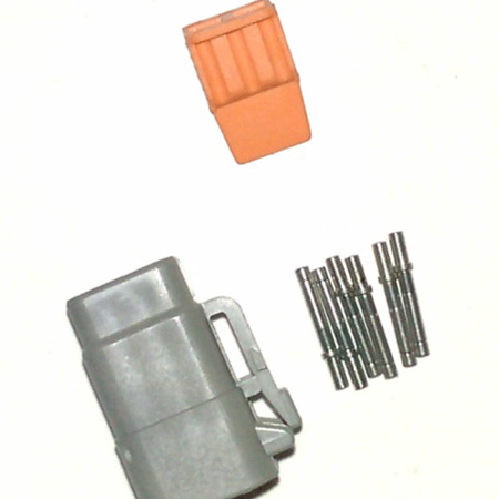 Deutsch DTM 6 way plug  kit