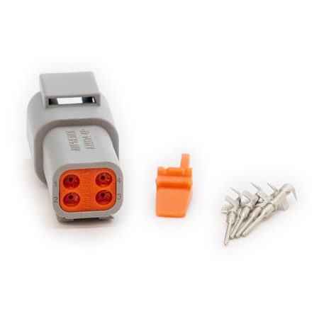 Deutsch DTM4 Connector Plug Kit - Female (DTM4M)