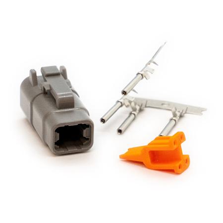 Deutsch DTM4 Connector Plug Kit - Male (DTM4M)