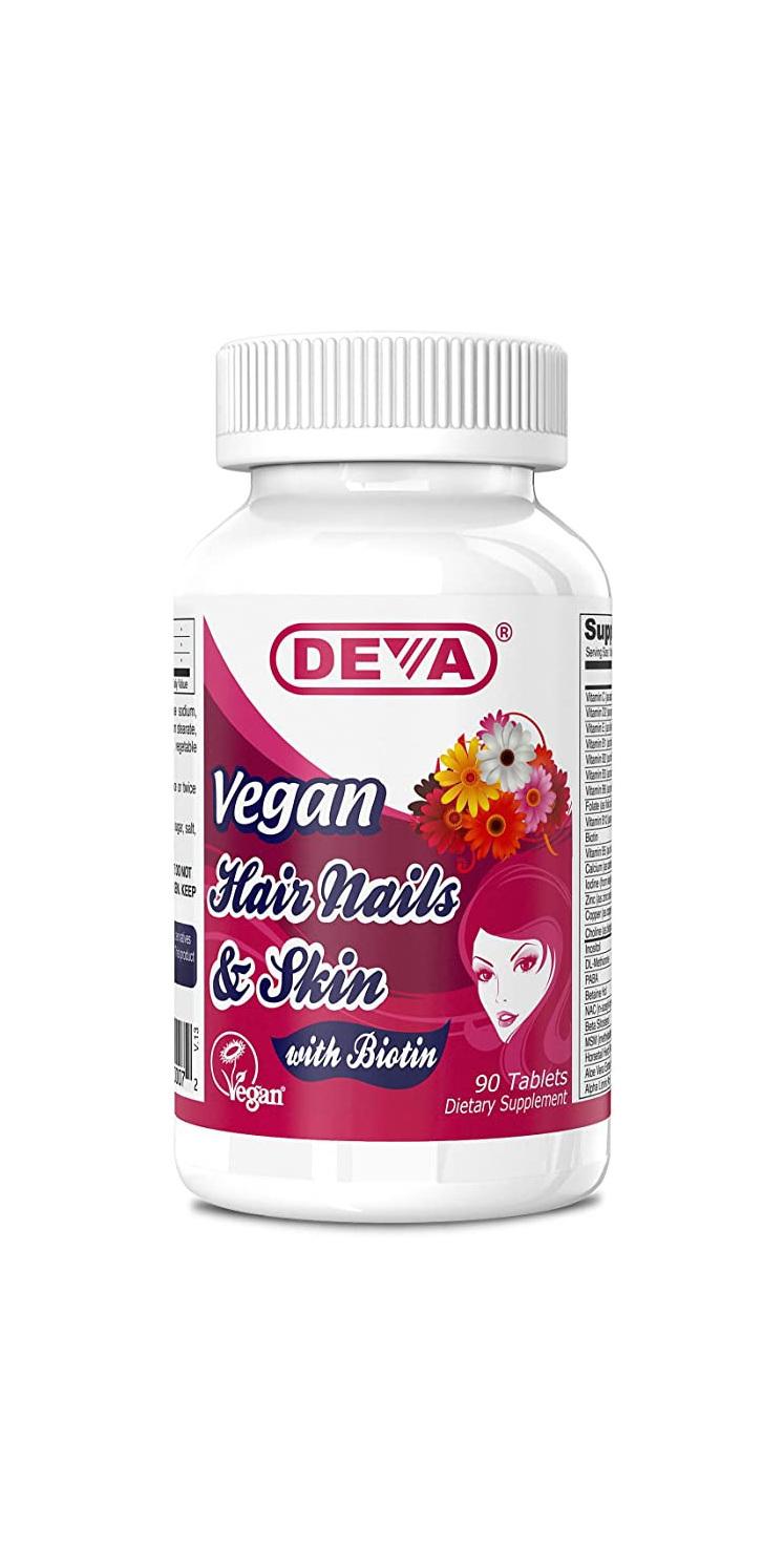 Deva Hair Nails & Skin 90 tabs