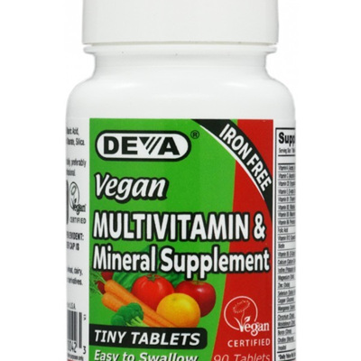 Deva Multivitamin Iron Free Tiny Tablets 90