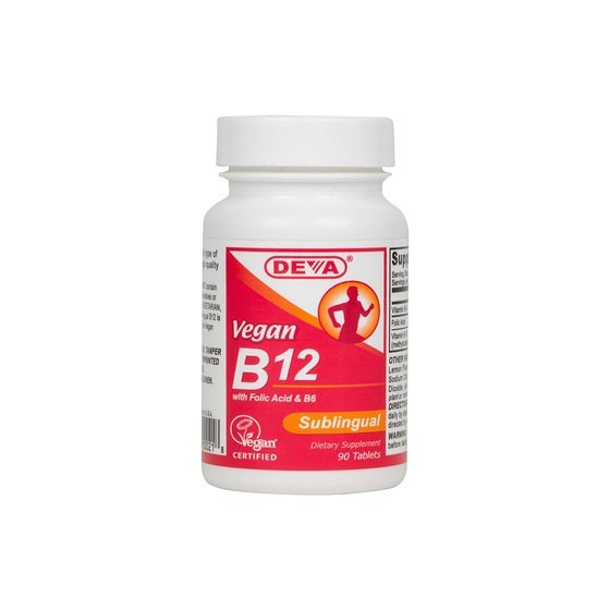 Deva Vegan B12 Supplements 90 tabs