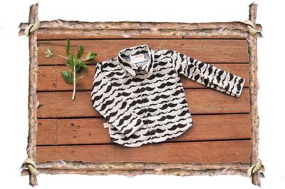 'Devon' shirt, 'Little Mister' 100% Cotton, 3-6m