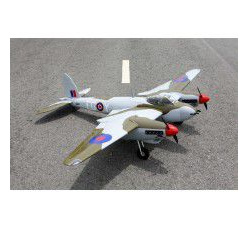 DH Mosquito 80in, twin .46-55 glow or, 15cc 0.20m3 by Seagull Models