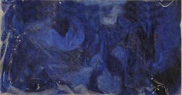 DI73627   Curly Roving - Blue
