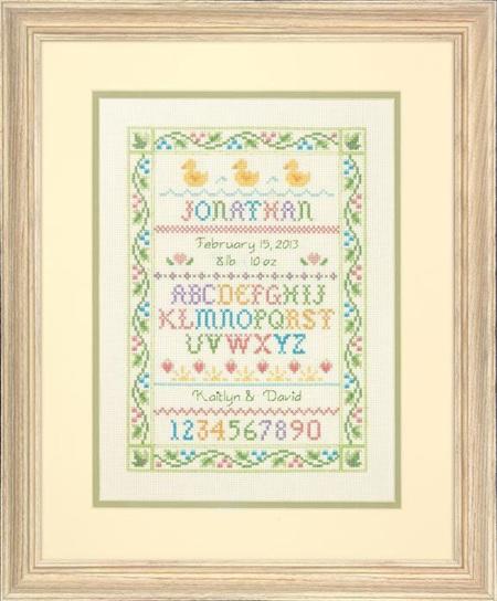 DI73815   Alphabet Sampler