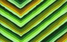 Diagonal Stripe Green