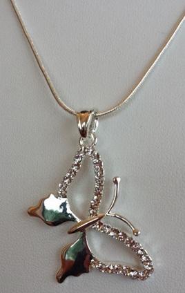 Diamante Butterfly