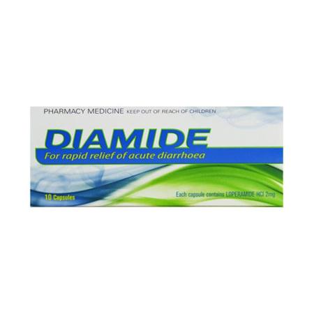 Diamide 2mg Capsules 10