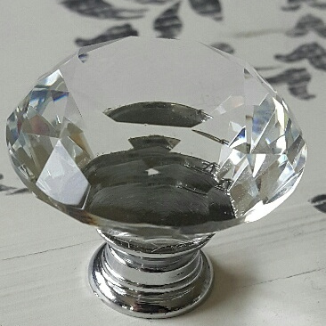 Diamond Crystal Knob