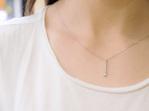 diamond dangle pendant