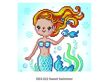 Diamond Dots Sweet Swimmer 21 x 26cm