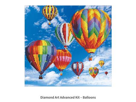 Diamond Dotz Ballons 47 x 37cm