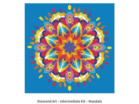 Diamond Dotz Flower Mandala 20.3 x 25.4cm