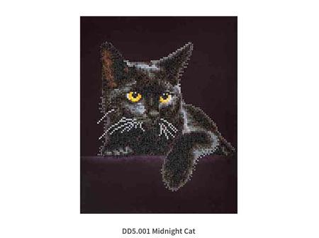 Diamond Dotz Midnight Cat 27.9 x 35.5cm