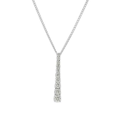 Diamond Drop Pendant