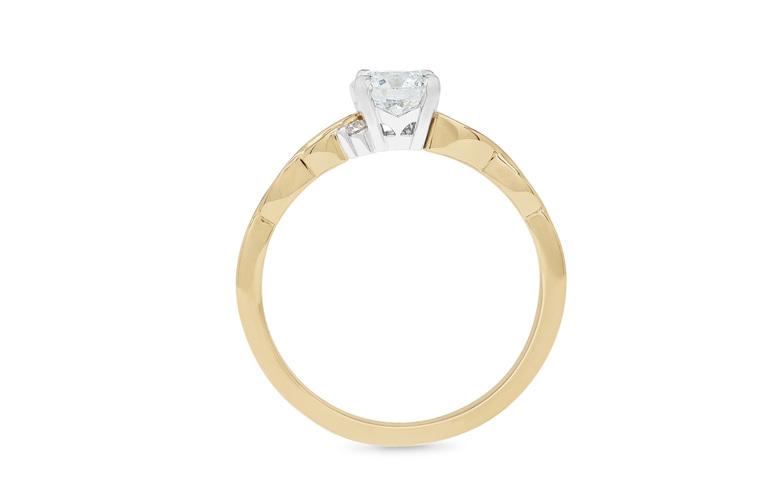 diamond engagement ring filigree nz inspired maori culture