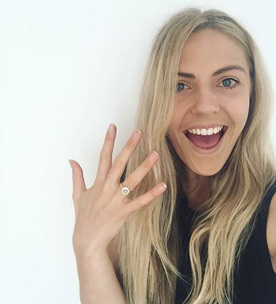 diamond engagement ring Wellington custom jewellery designer