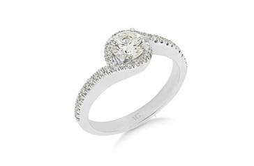 Twist Diamond Ring