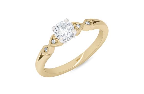 Diamond Solitaire, Diamond Engagement Ring, Engagement Ring