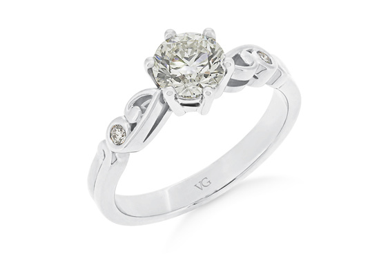 Diamond Solitaire, Diamond Engagement Ring, Engagement Ring