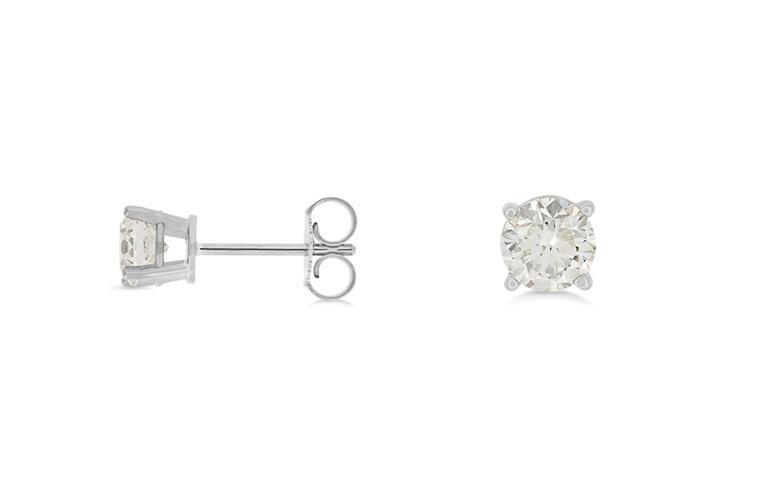 diamond stud earrings, diamond studs, diamond earrings, studs, diamond jewellery