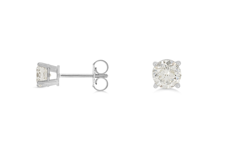 diamond stud earrings, diamond studs, diamond earrings, studs, diamond jewellery