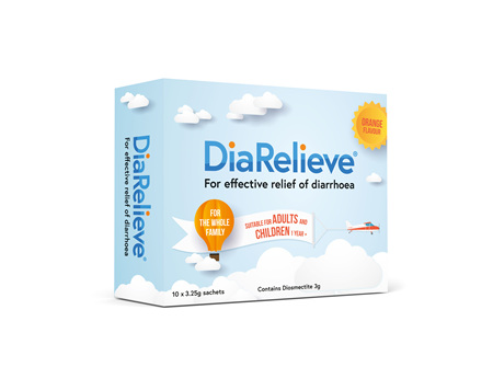DiaRelieve 10 Sachets 3.25g