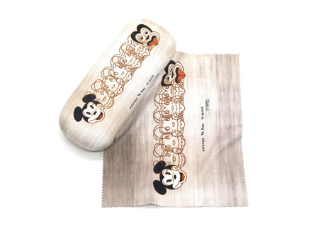 Dick Frizzell Mickey to Tiki Glasses Case